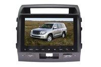 Precio de Consola gris-Dos din coche reproductor de DVD para Toyota Land Cruiser con 10.2