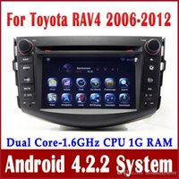 Android car audio dvd - Android Car DVD Player for Toyota RAV4 with GPS Navigation Radio BT USB Audio