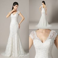 Cheap Trumpet/Mermaid wedding Dresses Best Model Pictures 2015 Spring Summer Bride Dresses