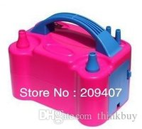 Wholesale Electric Balloon Air Pump inflator V nozzles