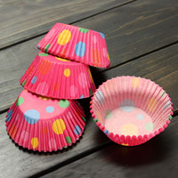 baking supplies sale - Hot sale New Paper Cake Cup Colorful Liners Dessert Baking Cupcake Mold Muffin Cases Wedding Party Supplies