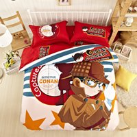 asian comforters sets - New Asian Conan Bedding Boys Comforter Set Luxurious Bedding Twin Queen King