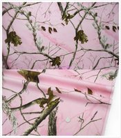 Wholesale Realtree Pink Cotton Fabric Sold by Yard Unique Camo Dress Fabric inch in Width True Timber Outdoors Camouflage Ovation Pink Fabric