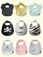 beautiful baby apron - Baby bib A variety of styles hot style baby wave waterproof beautiful saliva dripping Bib aprons