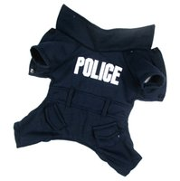 dog coats - Cute Dark Blue Police Letter Style Pet Dogs Coat Pet coat dogs coat pet cloth dog cloth dog product