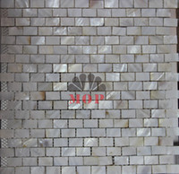 Wholesale home improvement shell mosaic tile mother of pearl natural white kitchen bathroom floor mosaics tiles background wall