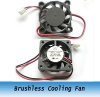 Wholesale 10PCS DC V DC Fans mm x mmx10mm Brushless Cooling Fan Blower