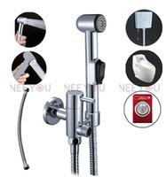 Wholesale 2015 NEW Multifunction Pressurized Bidet Spray Gun Bathroom washing machine Toilet ABS Bidet Sprayer Faucet Tap Enhanced pressure Shower