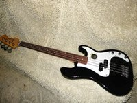 Wholesale and retail Strings Black Electric Bass guitar