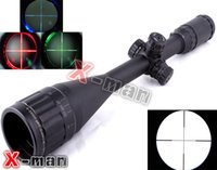 6-24x50 - Leapers UTG X50 Full Size AO Mil dot RGB Zero Locking Resetting Rifle Scope