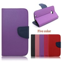 boost mobile phone - Mobile phone leather flip cover case for Motorola moto E2 XT1527 XT1511 Boost mobile