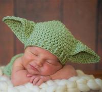 baby yoda - New style Yoda Baby Hat Star Wars Newborn Crochet Hat T Baby hat E253