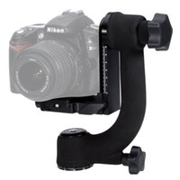 arca swiss - Mcoplus Professional Heavy Duty Metal Gimbal Tripod Head Ball with Arca Swiss Standard Quick Release Plate for DSLR Camera