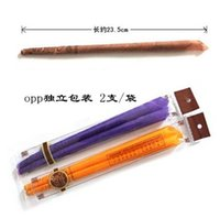 organic ear candles - Natural organic plant material Beeswax Ear Candle promotion package