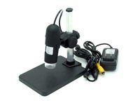 Acheter Vidéo grossissement-Type de support de grossissement 800x Microscope numérique AV / TV avec sortie vidéo Connexion TV