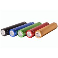 Wholesale Led small portable power bank travel charger high quality wholesales colorful powerbank mAh mini orange outdoor sports