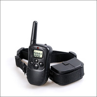 Wholesale Dog training collar Yard Hunting LCD LV Level Shock Vibra Remote conttrol Pet Dog Training Collar