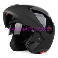 Wholesale Professional Full Face Motorcycle Flip up Helmet Sun resistant Motocross Motorbike Helmets With Inner Sun Visor Double Lens