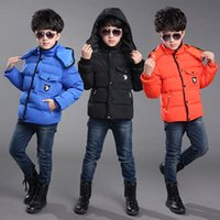 baby geese - 2015 new Hot Sale New High Quality children winter outwear Retail Children s Winter Down Jackets Baby Down Coat Boys Outerwear Thickening