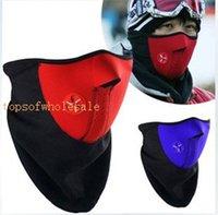 Wholesale Neoprene Snowboard Ski Cycling Face Mask Neck Warmer Bike Bicyle ski mask mixed colors hot sale