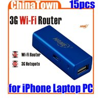 Wholesale Mini Portable in1 Mbps G WIFI Mobile Wireless USB Router Hotspot New For iPhone Laptop PC Free Express