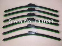 Wholesale Car windshield wiper silicone Bracketless soft Wiper Blade Windscreen Wiper available sizes mn2