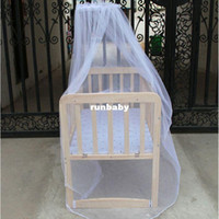 Cheap Modern Hot Selling Baby Bed Mosquito Mesh Dome Curtain Net for Toddler Crib Cot Canopy jun19