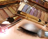 Wholesale golden Makeup Color Eyeshadow Palette palette pigment eyeshadow for smoky and shining Mineral glitter
