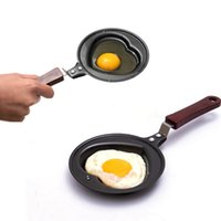 Wholesale Creative mini omelet pan fried egg mold small heart shaped fried egg frying pan
