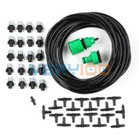 Wholesale 10m Garden Plants Irrigation Patio Misting Micro Dripper Kit Cooling System order lt no track
