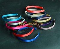 alice wedding - 1 cm satin headband alice headband for fascinator wedding colours