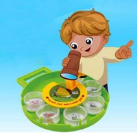 Wholesale Rotating Disc Magnifier Cartoon Amplification Experiment Children Educational Toys