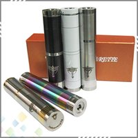 Electronic Cigarette Set Series  Wholesale Nemesis E Cig Mechanical Mods fit 510 Atomizer E Cigarette high quality 5 Colors Nemesis Mechanical Mod DHL Free