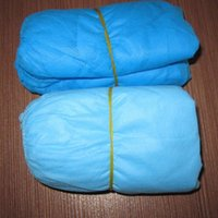 Wholesale Factory Direct Sale Nonwoven Shoe Covers Good Quality Of Surgical Waterproof Disposable Shoe Cover Blue Nonwoven Shoe Cover For Health Care