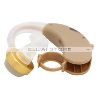 Wholesale New Best Tone Hearing Aids Aid Kit Behind the Ear Sound Amplifier Adjustable Tone Device