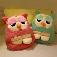 hand and foot - Electric Heating Warm Feet Shoes and Hand Pillow Cute owl Multi use Cushion Pillow Hand Warmer Winter USB Warmer Shoes