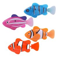 Wholesale Kids Robofish Activated Battery Powered Robo Fish Toy Childen Kids Robotic Pet Gift