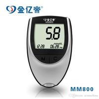 Wholesale 10pcs Electronic blood glucose meter testing instrument professional mm800 blood glucose meter warranty