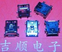 Wholesale Mini USB Interface Data Port Charging Dock mini P T type USB interface port T port conventional copper shell