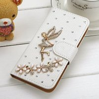 Wholesale Apple posted iphone6 exquisite diamond iphone case drill phone phone cases holster iphone4S iphone4 protective shell protective sleeve