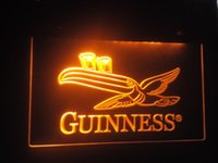 Wholesale jb Guinness Toucan Beer Bar Pub Club LED Neon Light Sign