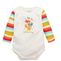Gros-Animal Giraffe Baby Boy manches longues Romper Baby Girl One Pieces Mignon Vêtements Salopette Roupas De Bebe Infantil Vêtements bébé