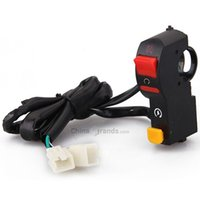 Wholesale ATV Motorcycle Motorcross Flameout Light On off Headlamp Horn Switch New Arrival