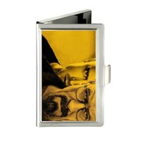 bad candy - Breaking Bad Custom Design Unique Business Card Holder Pocket Wallet Name ID Credit Case Stainless Steel Box Case