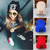 Wholesale Fashion Pyrex Baby Hat AutumnKids Winter Hats New Children Wool Warm Beanie Classic Candy Color T0613