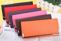 Wholesale New Arrival Women s PU Leather Lady Hand Bag Envelope Purse Clutch Hand Wallet Bag Card Holder Case