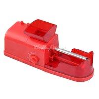 auto rolling machine - Tobacco Electric Cigarette Rolling Injector Auto Roller Maker Machine Red K5BO