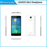 alfa sale - LEAGOO ALFA Android Smartphone Quad Core inche Screen RAM GB ROM G MP Camera hot sale