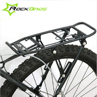 bicycle back brake - MTB kg Capacity Bike Luggage Carrier Bicycle V Brake Cycling Stander Seatpost Rack Back Shelves With Flanks Wings