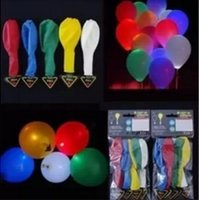 and decoration - Led Flash Balloon Christmas gift Wedding Birthday and Party Decoration Color light up balloons